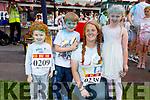 Aaron, Alex, Katie and Ava O'Riordan from Killorglin enjoying the colour run in Killarney on Sunday.