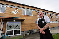 Head chef for Swansea City FC at the club's training ground in Fairwood, Wales, UK, Wednesday 14 September 2016