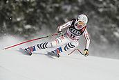 10th February 2019, Are, Sweden; Alpine skiing: Combination, ladies: downhill; Kira Weidle from Germany on her run