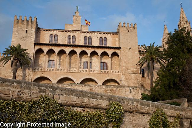 Almudaina - Almudena Palace, Palma, Majorca - Mallorca, Spain