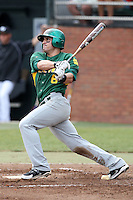 February 21, 2010:  Outfielder Anthony Giansanti (6) of the Siena Saints during a game at Melching Field at Conrad Park in DeLand, FL.  Siena lost to Stetson by the score of 8-7.  Photo By Mike Janes/Four Seam Images