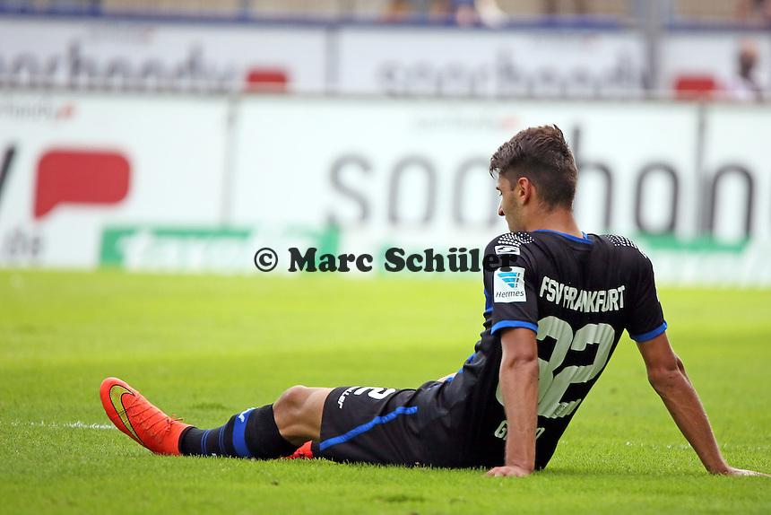 Vincenzo Grifo (FSV) frustriert nach der Klatsche - FSV Frankfurt vs. VfL Bochum, Frankfurter Volksbank Stadion