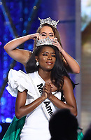 09 September 2018 - Atlantic City, NJ- Miss America 2019 Nia Franklin.  Miss New York Nia Imani Franklin is crowned Miss America 2019 at Boardwalk Hall.  <br /> CAP/ADM/MJT<br /> &copy; MJT/ADM/Capital Pictures
