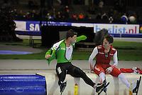 SCHAATSEN: HEERENVEEN: 26-12-2013, IJsstadion Thialf, KNSB Kwalificatie Toernooi (KKT), 5000m, Sven Kramer, Jan Blokhuijsen, ©foto Martin de Jong