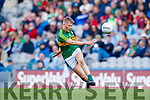 Donchadh O'Sullivan Kerry in action against  Derry in the All-Ireland Minor Footballl Final in Croke Park on Sunday.