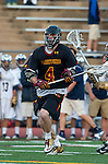 San Diego, CA 05/25/13 - Liam Barnes (Torrey Pines #4) in action during the 2013 CIF San Diego Section Open DIvision Boys Lacrosse Championship game.  Torrey Pines defeated La Costa Canyon 7-5.