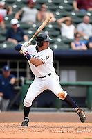 NW Arkansas Naturals designated hitter Mark Threlkeld (26) at bat during a game against the Corpus Christi Hooks on May 26, 2014 at Arvest Ballpark in Springdale, Arkansas.  NW Arkansas defeated Corpus Christi 5-3.  (Mike Janes/Four Seam Images)