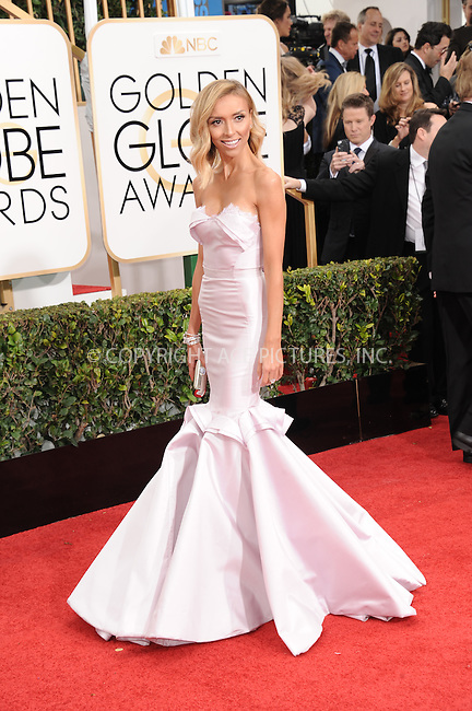 WWW.ACEPIXS.COM<br /> <br /> January 11 2015, LA<br /> <br /> Giuliana Rancic arriving at the 72nd Annual Golden Globe Awards at The Beverly Hilton Hotel on January 11, 2015 in Beverly Hills, California.<br /> <br /> <br /> By Line: Peter West/ACE Pictures<br /> <br /> <br /> ACE Pictures, Inc.<br /> tel: 646 769 0430<br /> Email: info@acepixs.com<br /> www.acepixs.com