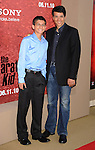 "WESTWOOD, CA. - June 07: Ralph Macchio and son Daniel Macchio arrive at ""The Karate Kid"" Los Angeles Premiere at Mann Village Theatre on June 7, 2010 in Westwood, California."