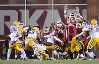 NWA Media/ J.T. Wampler -  Scenes from Arkansas' 17-0 win over LSU Saturday Nov. 15, 2014 at Donald W. Reynolds Razorback Stadium.