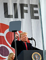 Donald Trump is first US President to attend March for Life