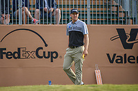Seamus Power (IRL) looks over his tee shot on 1 during Round 2 of the Valero Texas Open, AT&T Oaks Course, TPC San Antonio, San Antonio, Texas, USA. 4/20/2018.<br /> Picture: Golffile | Ken Murray<br /> <br /> <br /> All photo usage must carry mandatory copyright credit (© Golffile | Ken Murray)