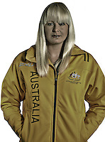 Australia's only summer/winter Paralympian,<br /> Jessica Gallagher<br /> Paralympic Portraits -  Athlete &amp; Skier<br /> Sydney Australia 2012<br /> London 2012 Paralympic Games<br /> &copy; Sport the library / Jeff Crow