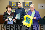 Community Watch - Breda Curran, Angela Kerins and Garda Irene Riordan at the Curraheen Community Council and surrounding areas activities and local voluntary groups showcase info evening on Tuesday