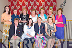 LADY GOLFERS: The Ardfert Captys lady golfers day was on Saturday at Ardfert Golfing Club and afterwards the awards were presentred to the winner by thye Lady President and Lady capt. Front l-r; Joan Cantillon (president), Kathleen Finnegan (overall winner of the capts prize), Kathleen Houlihan (Capt) and Mary O'Sullivan (2nd). Back l-r: Sharon cahill, Angela Enright, Geraldine O'Connor, Eleanor Dowd, Mary Quiillinan, Kathleen Burrows and Kay Mcnamara (all were winner on the day).