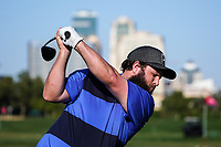 Andrew Johnston (ENG) on the driving range during the preview ahead of the Omega Dubai Desert Classic, Emirates Golf Club, Dubai,  United Arab Emirates. 20/01/2020<br /> Picture: Golffile | Thos Caffrey<br /> <br /> <br /> All photo usage must carry mandatory copyright credit (© Golffile | Thos Caffrey)