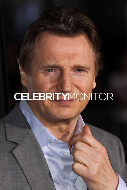 """WESTWOOD, CA, USA - FEBRUARY 24: Liam Neeson at the World Premiere Of Universal Pictures And Studiocanal's """"Non-Stop"""" held at Regency Village Theatre on February 24, 2014 in Westwood, Los Angeles, California, United States. (Photo by Xavier Collin/Celebrity Monitor)"""
