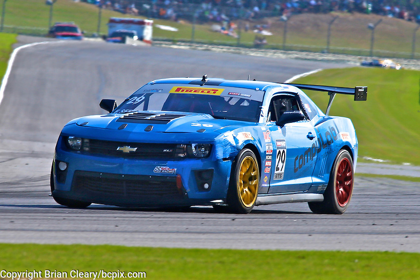 Fernando Seferlis, #29 Camaro, Pirelli World Challenge, Barber Motorsports Park, Leeds, Alabama, April 2014(Photo by Brian Cleary/www.bcpix.com)