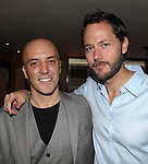 Scott C. Embler & Matthew Humphreys.pictured at the Opening Night After Party for '7th Monarch' at Angus McIndoe Restaurant  in New York City on June 24, 2012.
