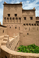 Kasbah Ameridhil, near Skoura, Morocco.  Architectural Details.