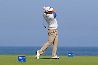 Zander Lombard (RSA) during the first round of the NBO Open played at Al Mouj Golf, Muscat, Sultanate of Oman. <br /> 15/02/2018.<br /> Picture: Golffile   Phil Inglis<br /> <br /> <br /> All photo usage must carry mandatory copyright credit (&copy; Golffile   Phil Inglis)