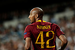 AS Roma's Steven Nzonzi during Champions League match. September 19, 2018. (ALTERPHOTOS/A. Perez Meca)
