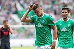 01.09.2019, wohninvest Weserstadion, Bremen, GER, 1.FBL, Werder Bremen vs FC Augsburg, <br /> <br /> DFL REGULATIONS PROHIBIT ANY USE OF PHOTOGRAPHS AS IMAGE SEQUENCES AND/OR QUASI-VIDEO.<br /> <br />  im Bild<br /> <br /> Marco Friedl (Werder Bremen #32)<br /> <br /> Foto © nordphoto / Kokenge