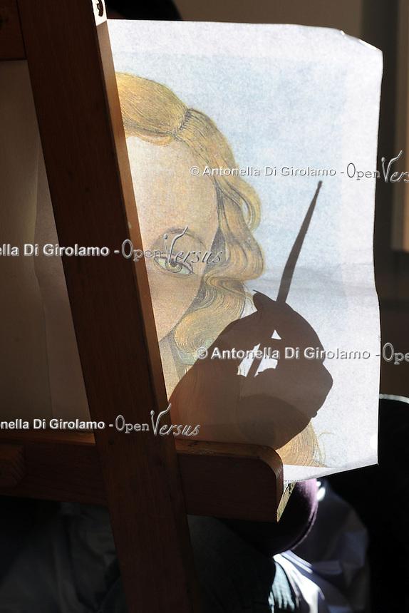 Corso di pittura a olio di Ugo Bevilacqua.Upter. L' Università popolare di Roma si occupa dell' apprendimento permanente degli adulti.Popular University of Rome is responsible for Life Long Learning.