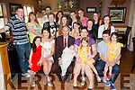 "Celebrating the christening of their baby ""Lelia Jerry Horan"" on Saturday 18th of April were proud parents Dawn Horan and David McCarthy.Baby Lelia was Christened in St Johns church Castleisland by Fr Dan Riordan.The christening party was held in O' Riada's Ballymac"