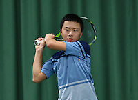 Rotterdam, The Netherlands, March 11, 2016,  TV Victoria, NOJK 12/16 years, Jing Long Weng (NED)<br /> Photo: Tennisimages/Henk Koster