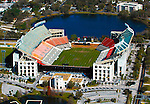 Aerial view of the Florida Citrus Bowl Stadium, Orlando Florida