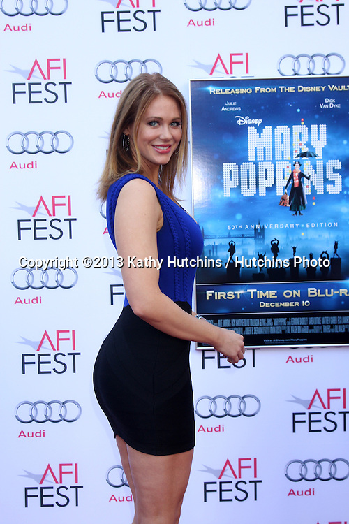 "LOS ANGELES - NOV 9:  Maitland Ward at the AFI FEST ""Mary Poppins"" 50th Anniversary Commemoration Screening at TCL Chinese Theater on November 9, 2013 in Los Angeles, CA\"