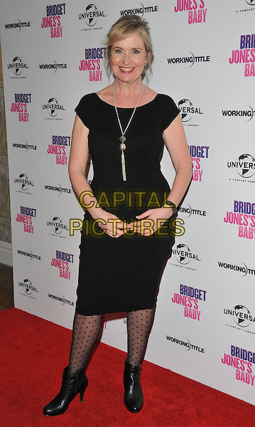 Carol Kirkwood at the &quot;Bridget Jones's Baby&quot; special film screening to celebrate the UK dvd release, Charlotte Street Hotel, Charlotte Street, London, England, UK, on Tuesday 31 January 2017.<br /> CAP/CAN<br /> &copy;CAN/Capital Pictures