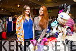 Aileen O Mahony And Charlotte Maguire enjoying the 'Dress Haven' Fashion Event in aid of Recovery Haven at Fels Point Hotel on Saturday