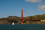 San Francisco, California: Golden Gate Bridge and Marin Headlands. Photo 15-casanf78179. Photo copyright Lee Foster.