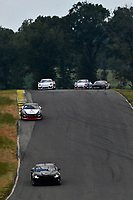 IMSA Continental Tire SportsCar Challenge<br /> Biscuitville Grand Prix<br /> Virginia International Raceway, Alton, VA USA<br /> Saturday 26 August 2017<br /> 57, Chevrolet, Chevrolet Camaro GT4.R, GS, Matt Bell, Robin Liddell, 28, Porsche, Porsche Cayman GT4, Dylan Murcott, Dillon Machavern<br /> World Copyright: Scott R LePage<br /> LAT Images