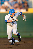 UCLA's Beau Amaral in Game 6 of the NCAA Division One Men's College World Series on Monday June 21st, 2010 at Johnny Rosenblatt Stadium in Omaha, Nebraska.  (Photo by Andrew Woolley / Four Seam Images)