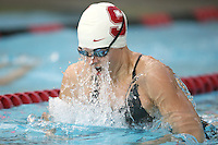 STANFORD, CA - JANUARY 22:  Kerry Kraemer of the Stanford Cardinal during Stanford's 173-125 win over Arizona on January 22, 2010 at the Avery Aquatic Center in Stanford, California.