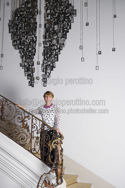 | Patrizia Sandretto Re Rebaudengo - art collector |<br /> client: Ars Magazine - Spain