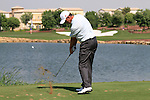 Richard Green tees off on the par3 6th tee during Day 1 of the Dubai World Championship, Earth Course, Jumeirah Golf Estates, Dubai, 25th November 2010..(Picture Eoin Clarke/www.golffile.ie)