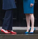 Theresa May + Nicola Sturgeon