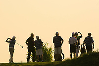 SSP Chowrasia (IND) during the second round of the NBO Open played at Al Mouj Golf, Muscat, Sultanate of Oman. <br /> 16/02/2018.<br /> Picture: Golffile | Phil Inglis<br /> <br /> <br /> All photo usage must carry mandatory copyright credit (&copy; Golffile | Phil Inglis)
