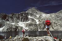 Europe/France/Midi-Pyrénées/65/Hautes-Pyrénées/Parc National des Pyrénées/Env Cauterets: Soum de Bassia (2758 mètres) et lac de Pourtet - Randonnée pédestre en montagne