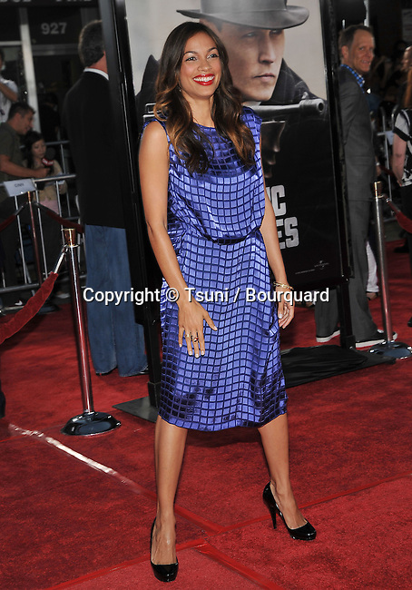 Rosario Dawson   -<br /> Los Angeles Film Festival Public Enemies Premiere at the Westwood Village Theatre In Los Angeles.