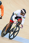 Jair Tjon en Fa of the Suriname team competes in the Men's Sprint - 1/8 Finals as part of the Men's Sprint - 1/8 Finals as part of the 2017 UCI Track Cycling World Championships on 14 April 2017, in Hong Kong Velodrome, Hong Kong, China. Photo by Chris Wong / Power Sport Images