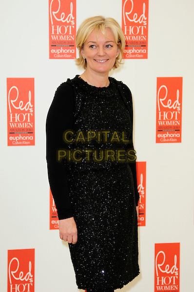 JO MALONE .attends Red magazine's 'Red Hot Women Awards' at the Saatchi Gallery, London, England, UK, .November 30th 2010..half length black dress sparkly cardigan .CAP/CAS.©Bob Cass/Capital Pictures.