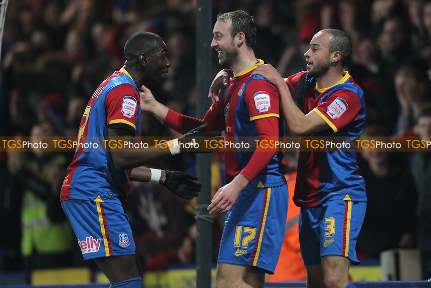 Glenn Murray of Crystal Palace Celebrates - Crystal Palace vs Bristol City - NPower Championship Football at Selhurst Park - 19/02/13 - MANDATORY CREDIT: Simon Roe/TGSPHOTO - Self billing applies where appropriate - 0845 094 6026 - contact@tgsphoto.co.uk - NO UNPAID USE