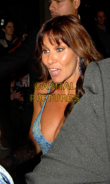 LINDA LUSARDI.Afterparty at Mahiki nightclub for the TV Quick & TV Choice Awards, The Dorchester Hotel, London, England. .September 3rd 2007.headshot portrait funny face .CAP/SW.©Stephen Walters/Capital Pictures