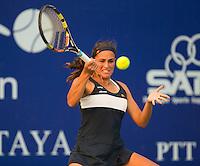 Monica Puig (PUR)<br /> <br /> Tennis - PTT Thailand Open 2015 - WTA -  Dusit Thani Hotel - Pattaya - Chonburi - Thailand  - 9 February 2015.