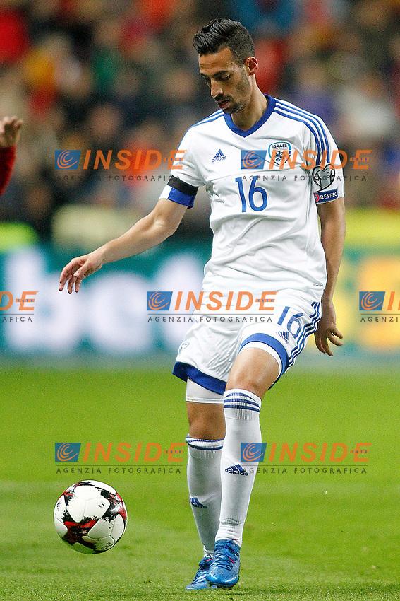 Israel's Daniel Einbinder during FIFA World Cup 2018 Qualifying Round match. <br /> Gijon 24-03-2017 Stadio El Molinon <br /> Qualificazioni Mondiali <br /> Spagna - Israele <br /> Foto Acero/Alterphotos/Insidefoto <br /> ITALY ONLY